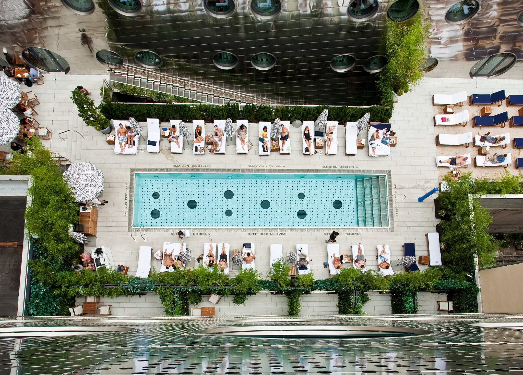 Hotel Pool Dream Downtown